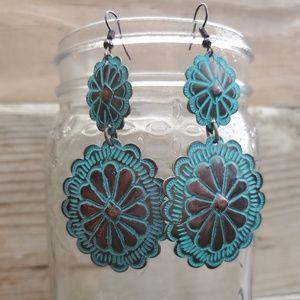 Western Style Dangle Earrings